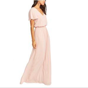 Show Me Your MuMu Dresses - Show Me Your Mumu Blush Pink Maxi Dress